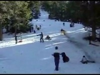 Accident de luge