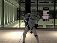 Stars Wars danse retro