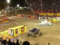 Backflip Monster truck