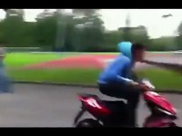 Accident de scooter